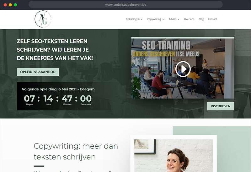 Website van Anders Geschreven