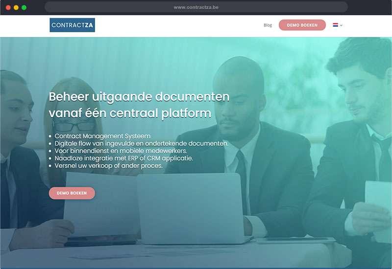 website voor contractza